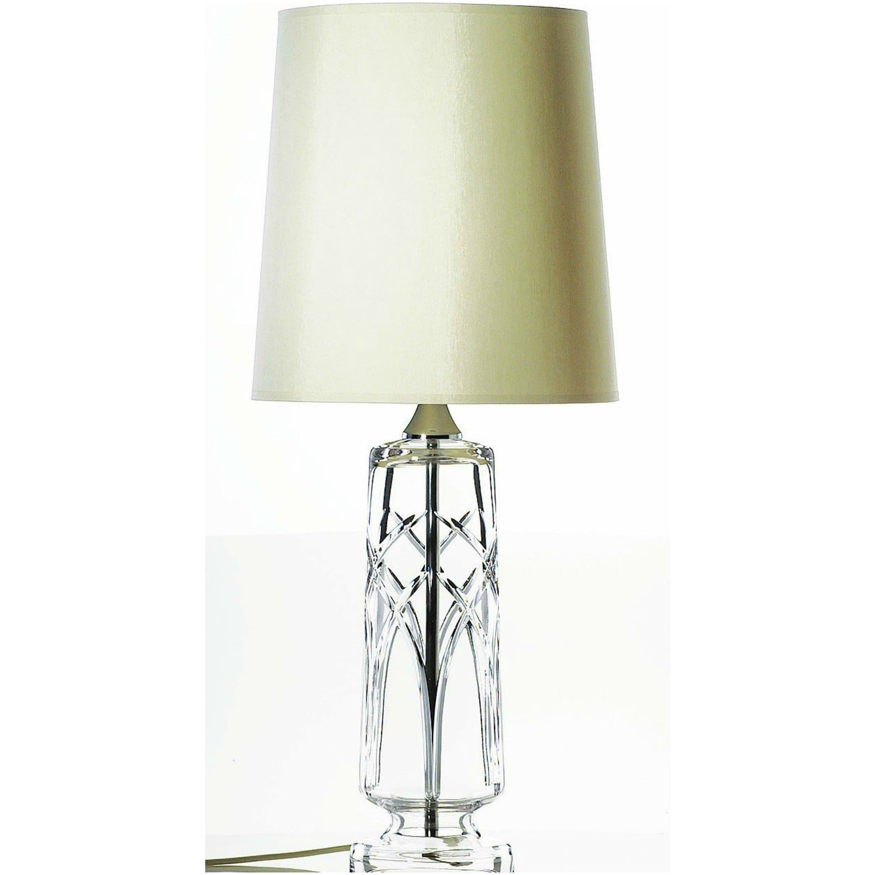 "Mystique 16"" Lamp & Shade (IRL/UK Fittings) (CL316) - Galway Irish Crystal"