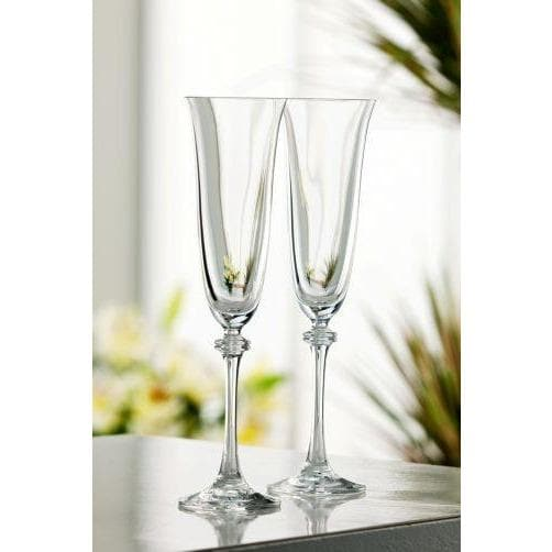 Liberty Flute Glass  Pair