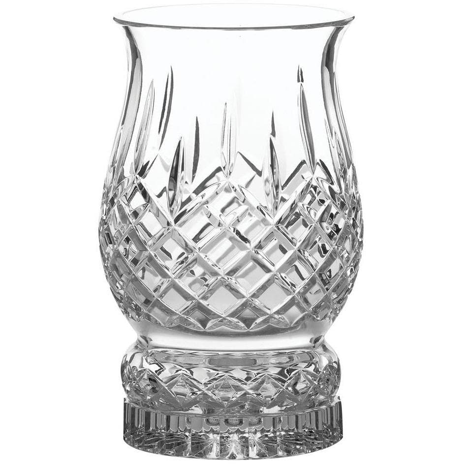 Longford Pillar Hurricane Candleholder (includes candle) Engraved (G22055E) - Galway Irish Crystal