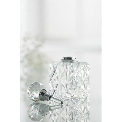 Mini Square Perfume Bottle (IC42) - Galway Irish Crystal