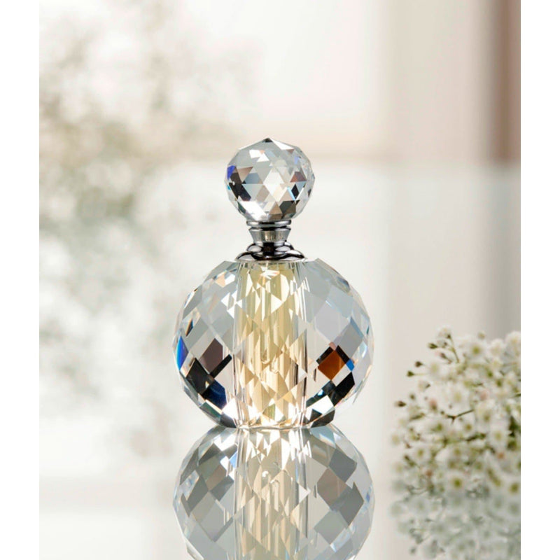 "Savoy 4"" Perfume Bottle - Galway Irish Crystal"