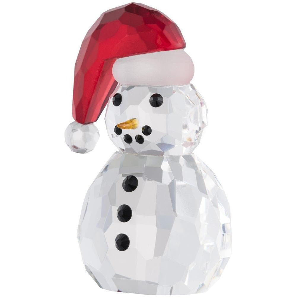 Small Snowman Santa Hat (GMG11) - Galway Irish Crystal