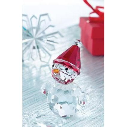 *Out of Stock* Magical Blushing Snowman GMG01 - Galway Irish Crystal