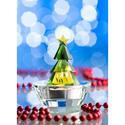 Magical Christmas Tree Votive Green (GMG10)