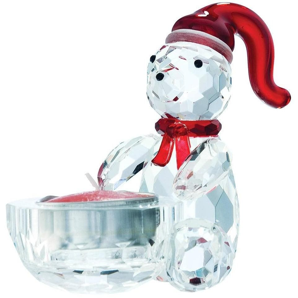 Magical Christmas Bear Votive GMG08 - Galway Irish Crystal