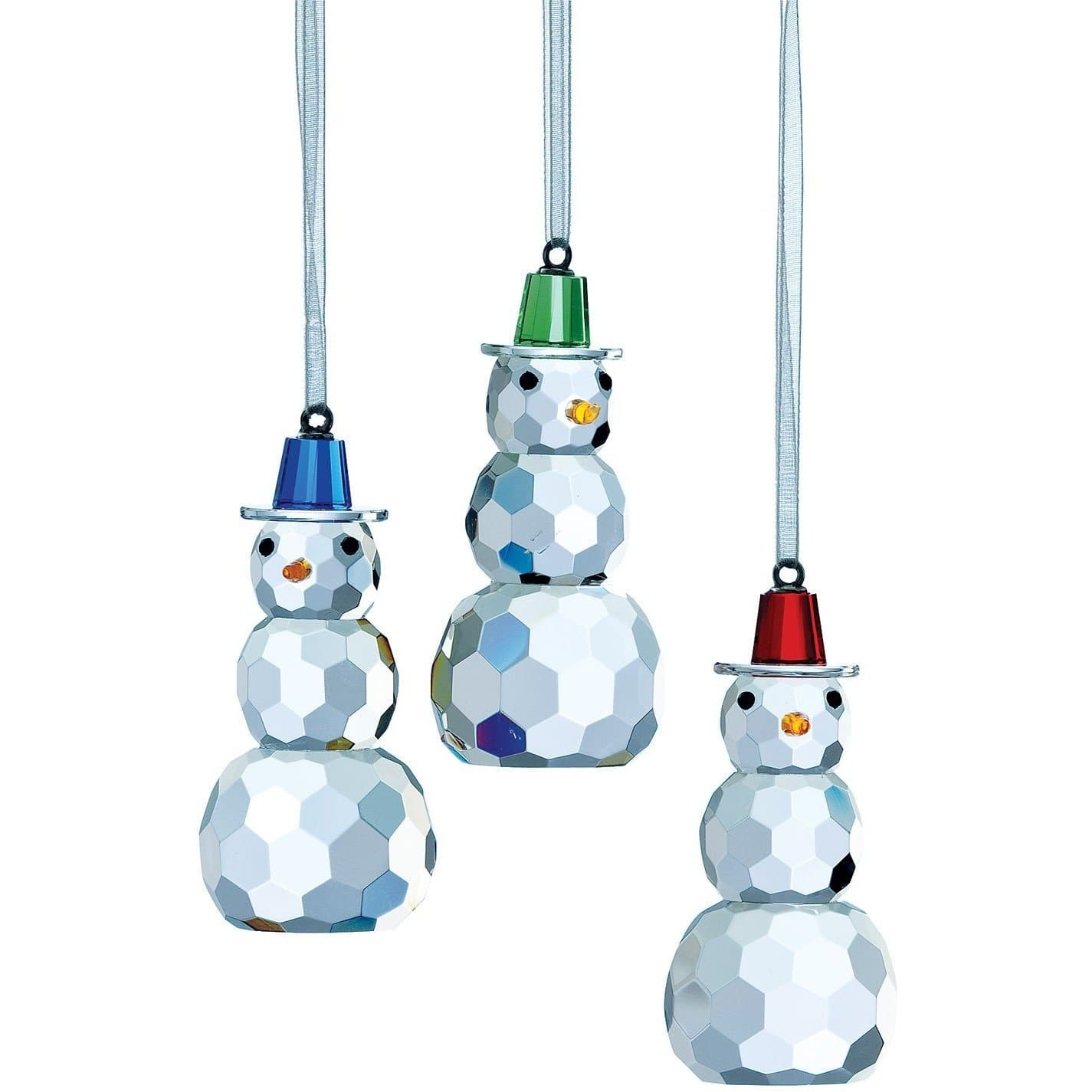 Magical Snowman Hanging Ornaments GMG09 - Galway Irish Crystal