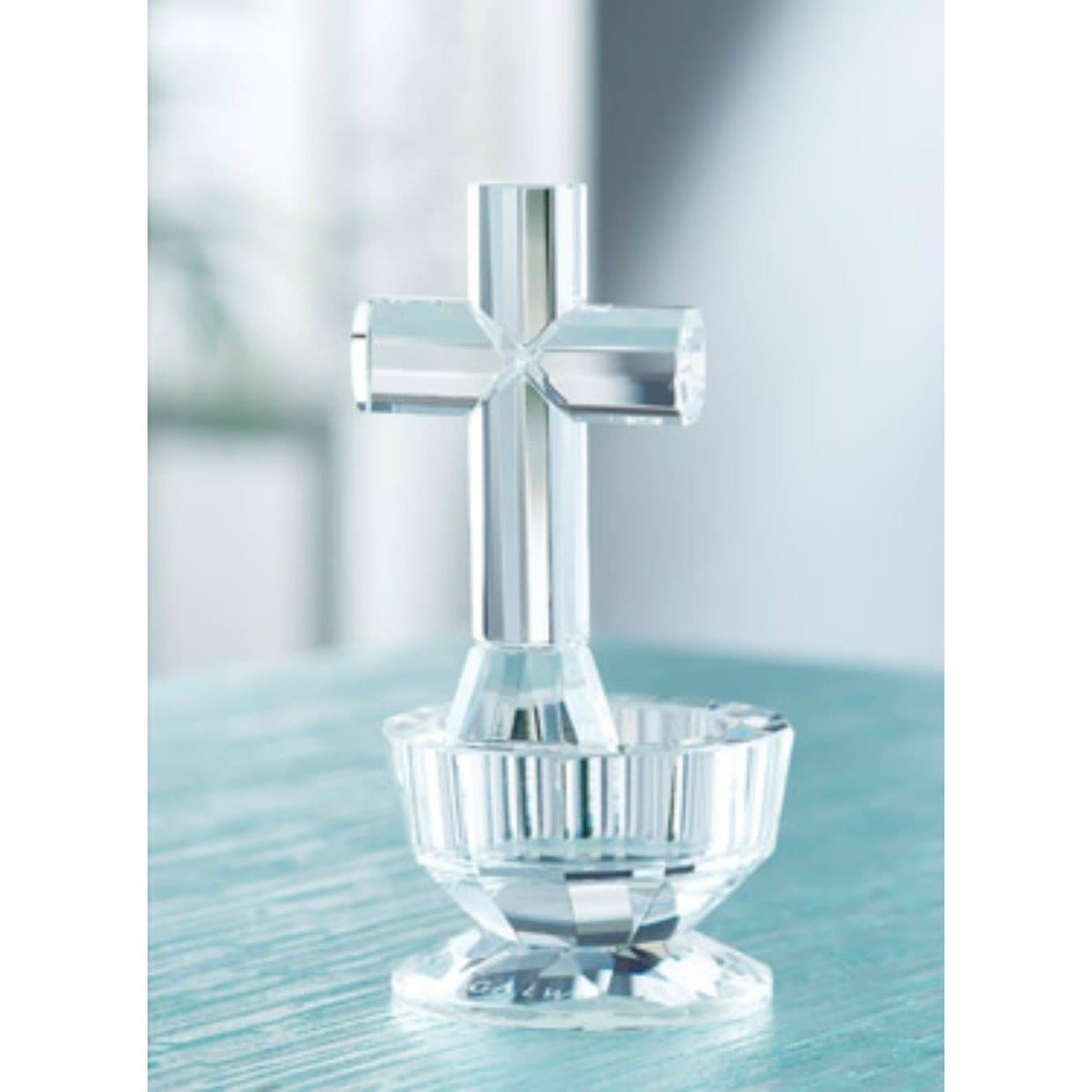 Cross Votive (GIC08) - Galway Irish Crystal