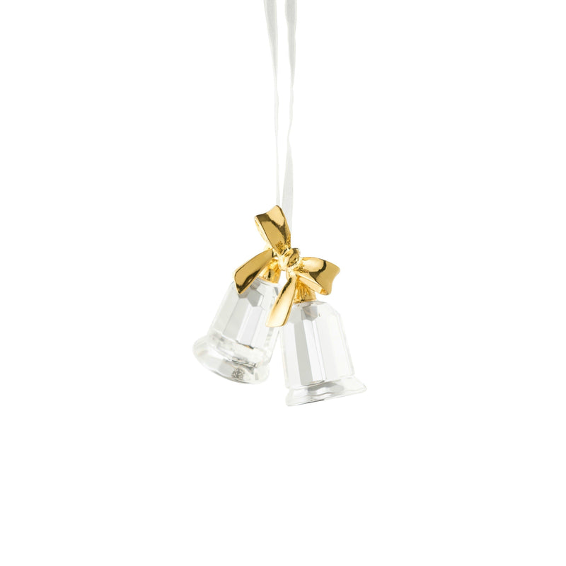 Twin Bells Hanging Ornament GIC43 - Galway Irish Crystal