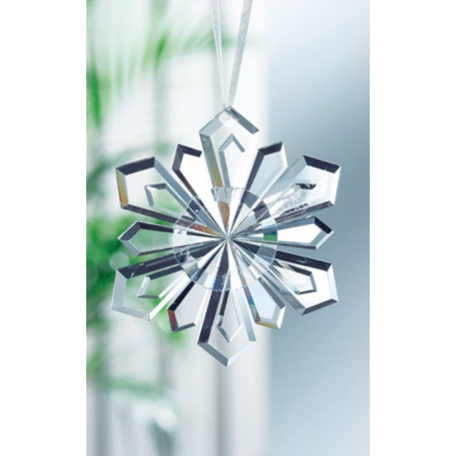 Snowflake Hanging Ornament GHO01 - Galway Irish Crystal