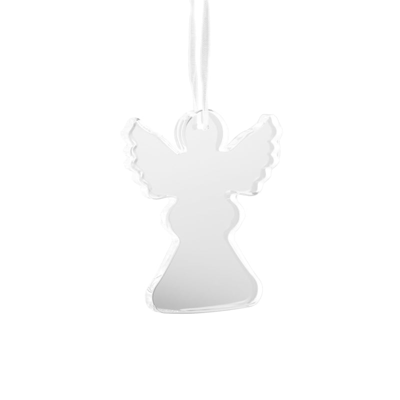 Engraved Angel Hanging Ornament (GHO06E) - Galway Irish Crystal