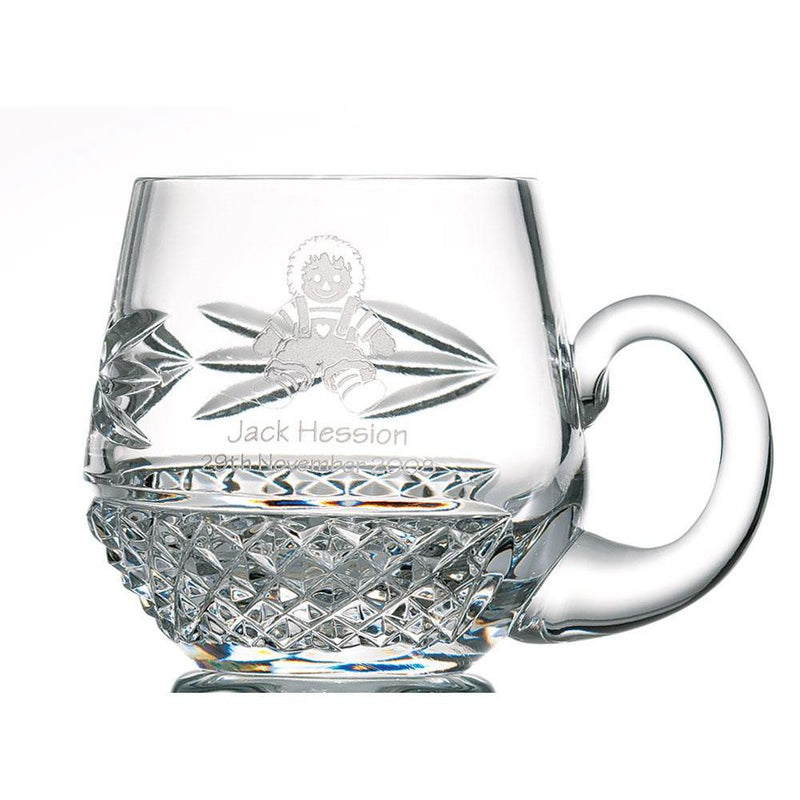Engraved Christening Mug - Galway Irish Crystal