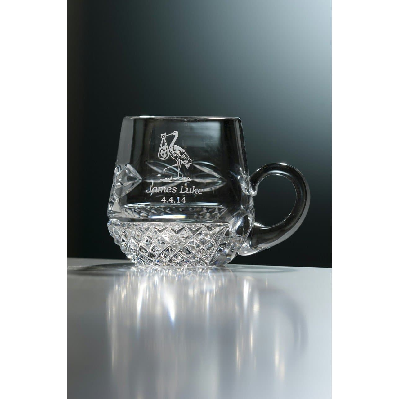 Engraved Christening Mug  (G25590E)