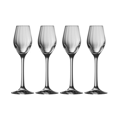 Erne Sherry/Liqueur (Set of 4) (320054) - Galway Irish Crystal