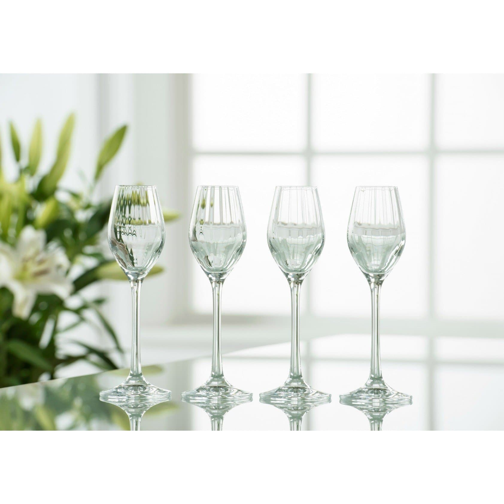 Erne Sherry/Liqueur Set of 4 - Galway Irish Crystal