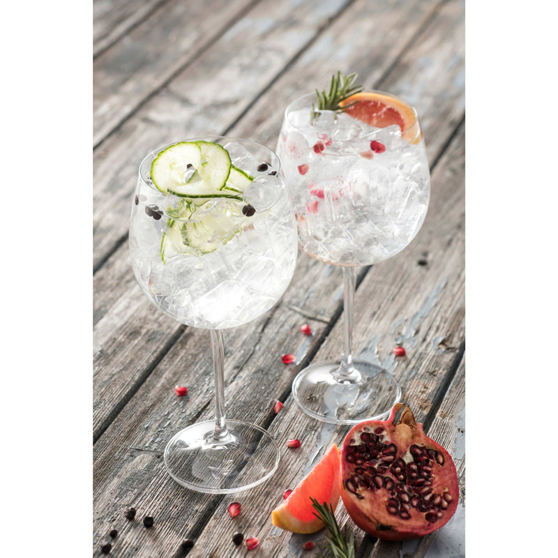 Elegance Gin & Tonic Glass Pair  (G900042) - Galway Irish Crystal