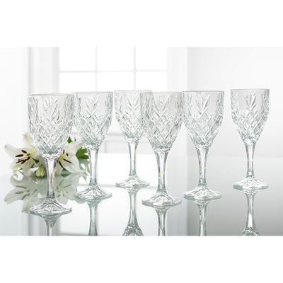 Renmore Goblets Set 6 - Galway Irish Crystal