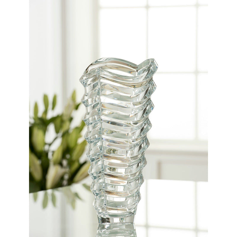 "Atlantic 13"" Vase - Galway Irish Crystal"