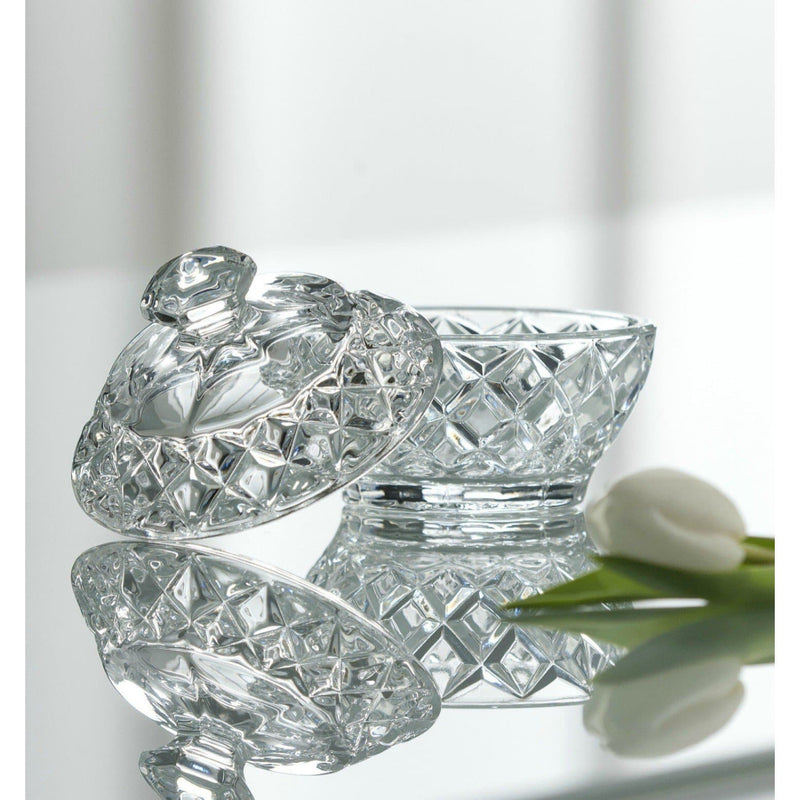 Ashford Trinket Box (G57404) - Galway Irish Crystal