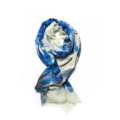 Atlantic Blue Merino Scarf