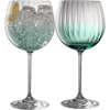 Erne Gin and Tonic Glasses Aqua