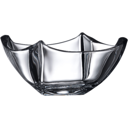 "Dune 10"" Bowl Engraved - Galway Irish Crystal"