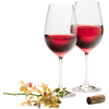 Engraved Elegance Red Wine (Pair)