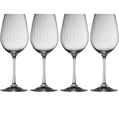Erne Wine (Set of 4) (G320024) - Galway Irish Crystal