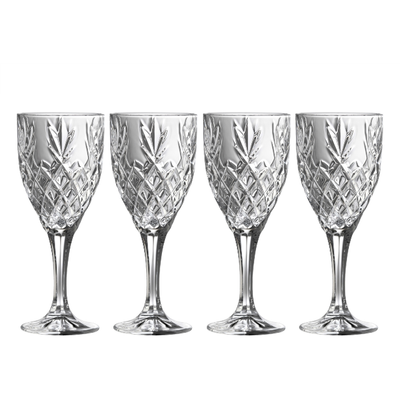Renmore Goblets Set 4 - Galway Irish Crystal