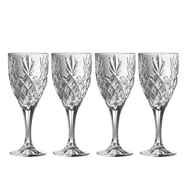 Renmore Goblets (Set 4) (G350004) - Galway Irish Crystal
