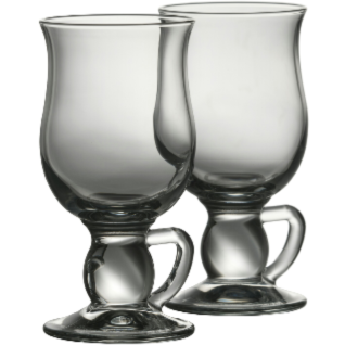 Latte Mugs Engraved Pair - Galway Irish Crystal