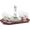 Longford Brandy Decanter Tray Set - Galway Irish Crystal