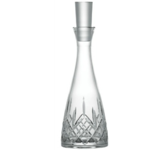 Engraved Longford Wine Decanter - Galway Irish Crystal