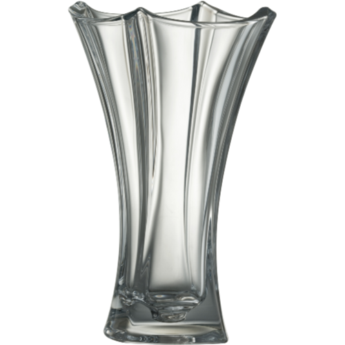 "Dune 12"" Waisted Vase - Galway Irish Crystal"