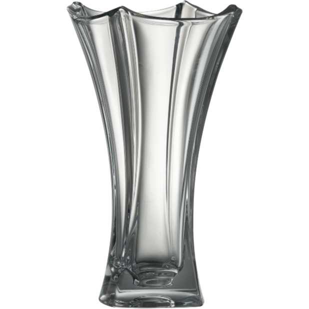 "Dune 14"" Waisted Vase - Galway Irish Crystal"