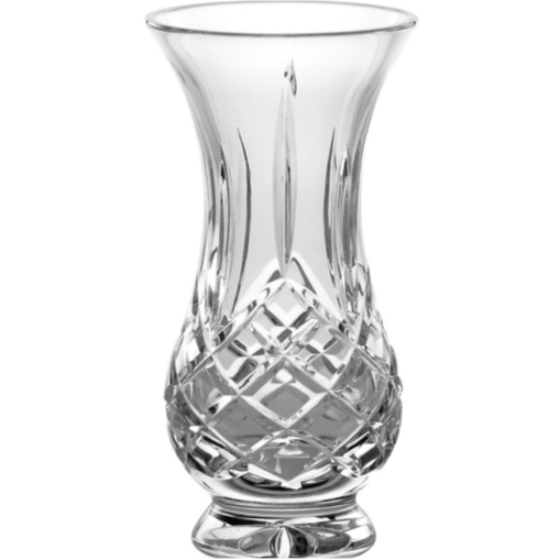 "Longford 5"" Ftd Bulb Vase 22176 - Galway Irish Crystal"