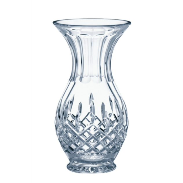 "Longford 8"" Ftd Bulb Vase - Galway Irish Crystal"