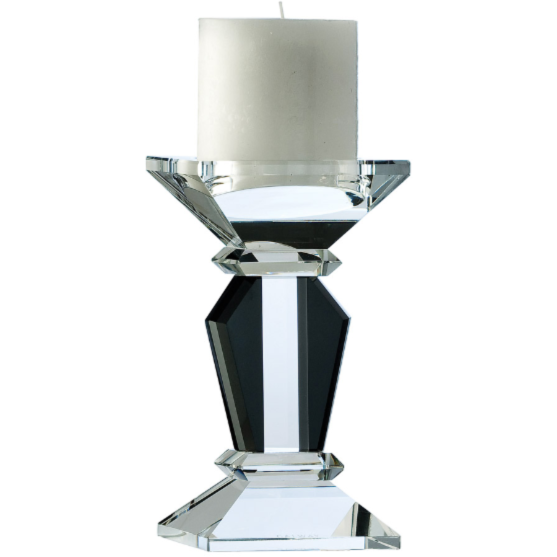 "Deco 7"" Candleholder (Excludes Candle) (D085)"