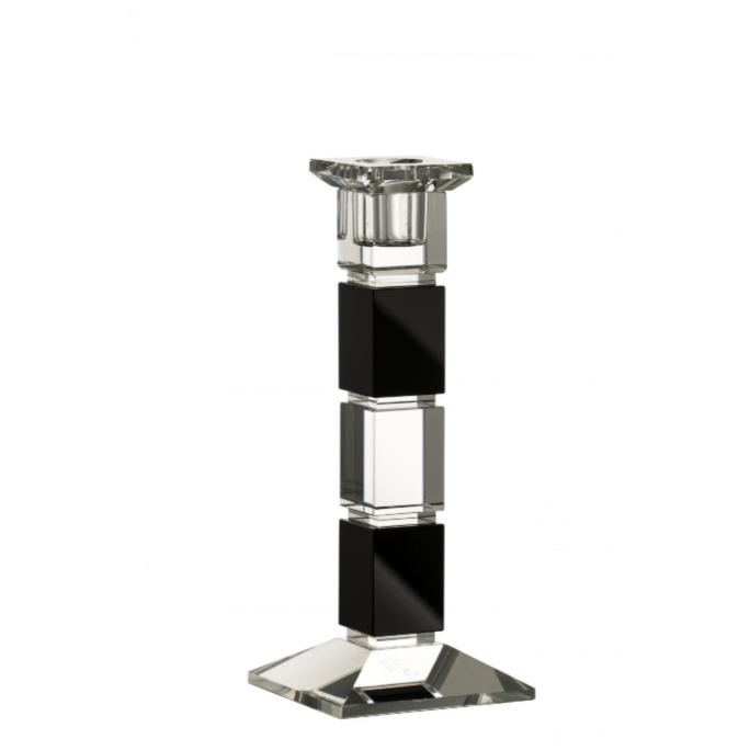 "Deco 8"" Square Candlestick (Excludes Candle)"