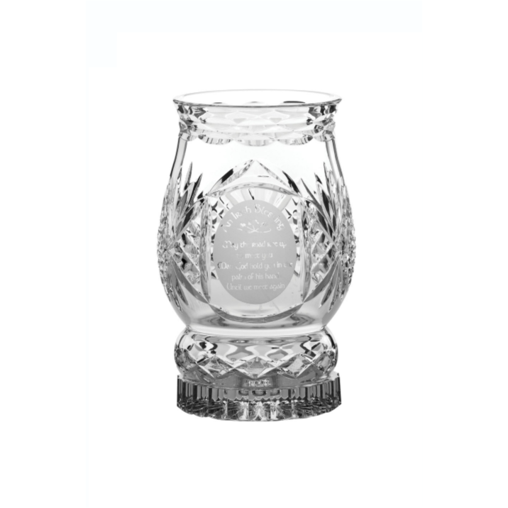 Irish Blessing Hurricane Lamp (includes candle) (G257855)