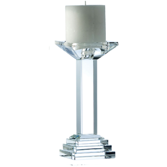 "Paris 8"" Candleholder (excludes candle)"