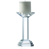 "Paris 9"" Candleholder Engraved (excludes candle)"