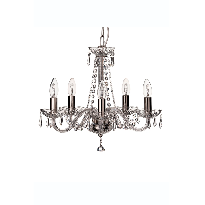 Cashel 5 Arm Chandelier