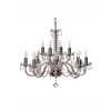 Cashel 12 Arm Chandelier (GCH12) - Galway Irish Crystal