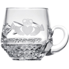 Claddagh Christening Mug - Galway Irish Crystal
