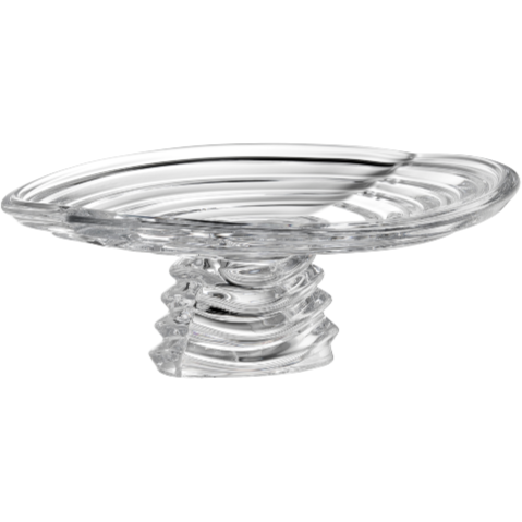Atlantic Footed Platter - Galway Irish Crystal