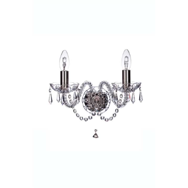 Leenane Wall Sconce (GLE02) - Galway Irish Crystal