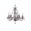 Leenane 5 Arm Chandelier (GLE05) - Galway Irish Crystal