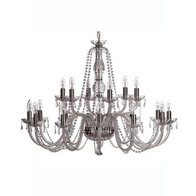 Leenane 18 Arm Chandelier UK/IRE Fitting - Galway Irish Crystal