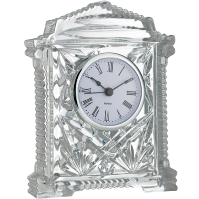 Lynch Carriage Clock Engraved (G25818E) - Galway Irish Crystal