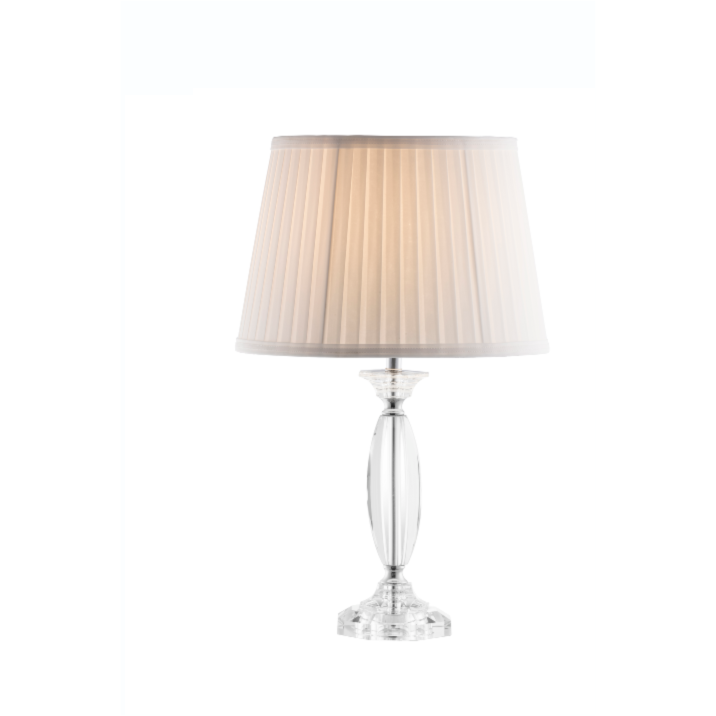 *Low Stock* Lyon Lamp & Shade  (GLN61) (IRL UK Fitting) - Galway Irish Crystal